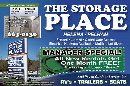 Special Offers from the Storage Place